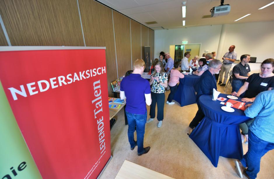 Alle generaties waren vertegenwoordigd bij de eerste Nedersaksisch studiedag voor leraren, 21 juni 2019 in Zwolle