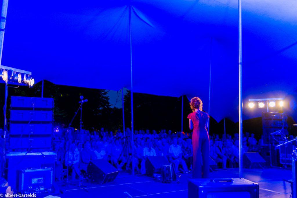streektaal evenement Zunnewende 2017, foto door Albert Bartelds