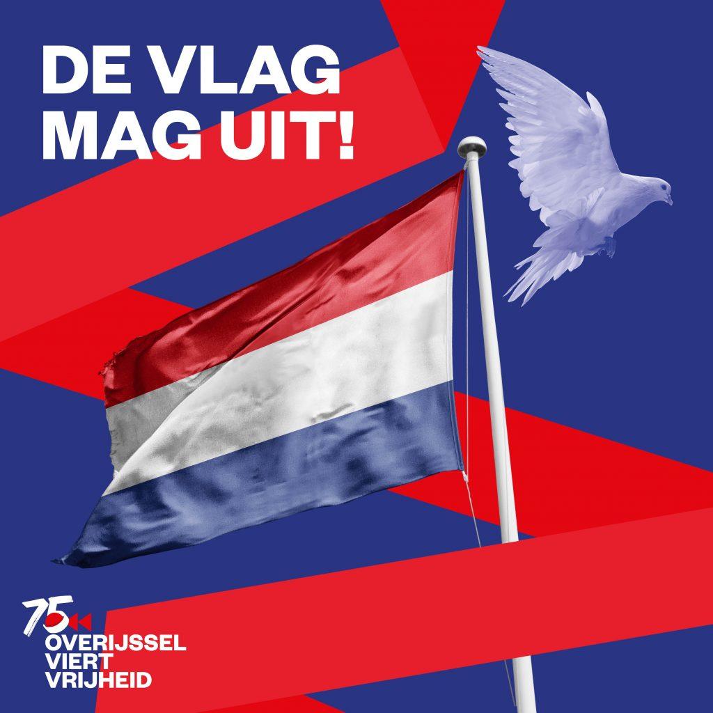 oproep de vlag mag uit