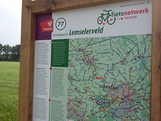 Fietsroutenetwerk Twente panelen vervangen