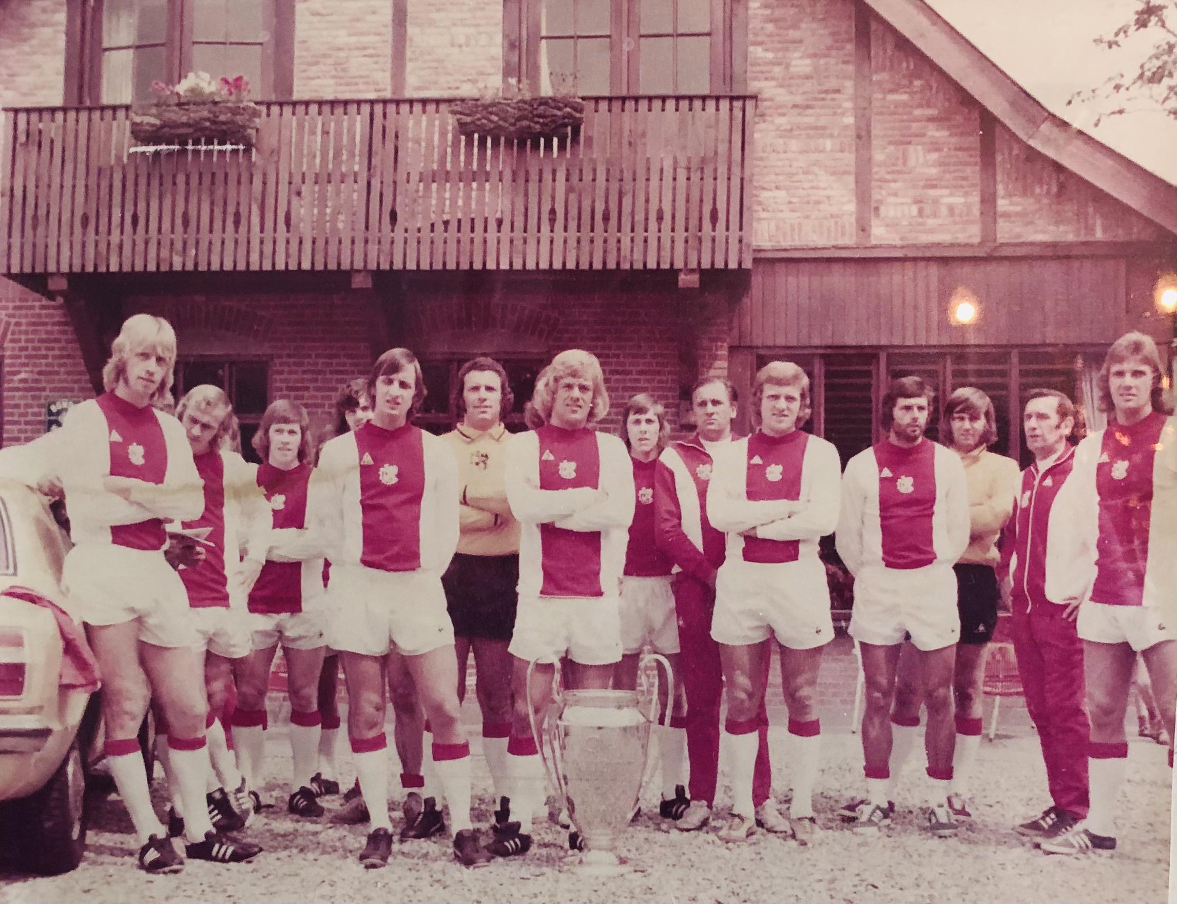 Selectie Ajax trainingskamp '73